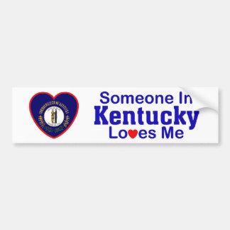 Someone In Kentucky Loves Me Bumper Sticker