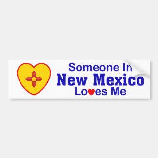 Someone In New Mexico Loves Me Bumper Sticker