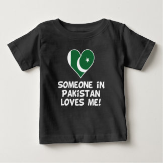 Someone In Pakistan Loves Me Baby T-Shirt