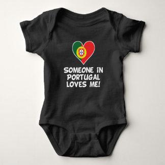 Someone In Portugal Loves Me Baby Bodysuit