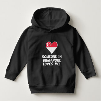 Someone In Singapore Loves Me Hoodie