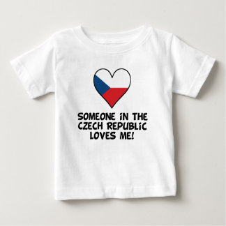 Someone In the Czech Republic Loves Me Baby T-Shirt