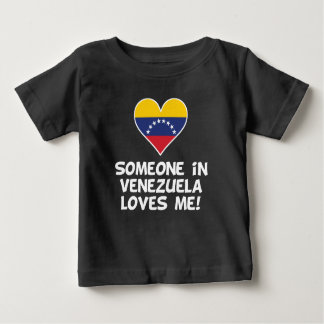Someone In Venezuela Loves Me Baby T-Shirt