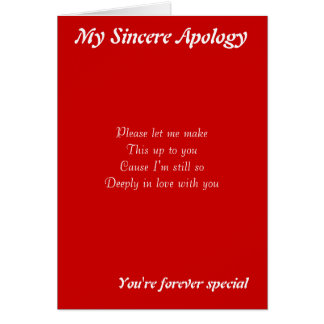 Someone special cards someone special greeting cards someone someone special apology greeting cards m4hsunfo