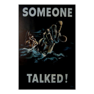 Someone Talked Poster