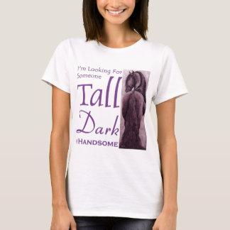 Someone Tall Dark & Handsom -  Friesian Horse T-Shirt