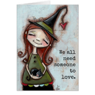 Someone to Love - Greeting Card