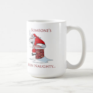 Someone's Been Naughty Christmas Mug