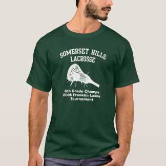 Somerset Hills Lacrosse 2006 Champs T-Shirt