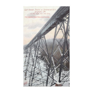 Somerset Railroad Trestle Canvas Print