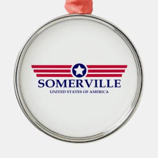 Somerville Pride Metal Ornament