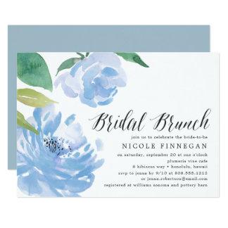 Something Blue | Bridal Brunch Invitation