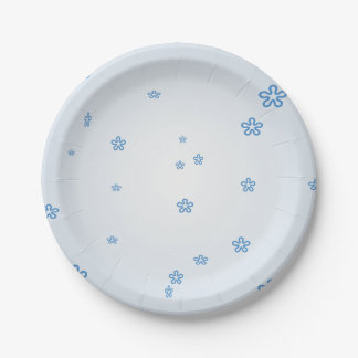 Something Blue Paper Plates