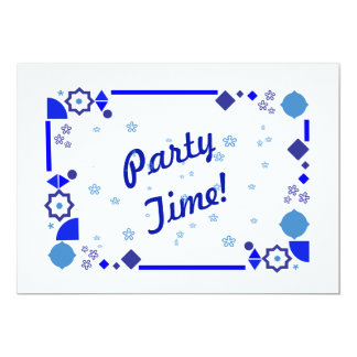 Something Blue Party Invitation