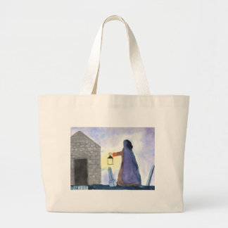 Something Broke Out Large Tote Bag