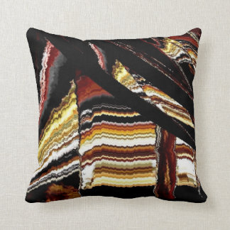Something distorted #1 throw pillow