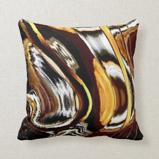 Something distorted #2 throw pillow