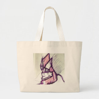 Something Disturbing Large Tote Bag