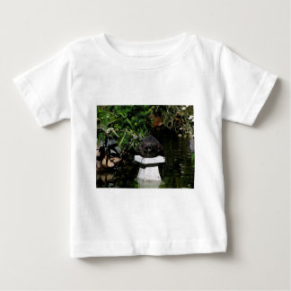 Something Fishy in the Garden Baby T-Shirt