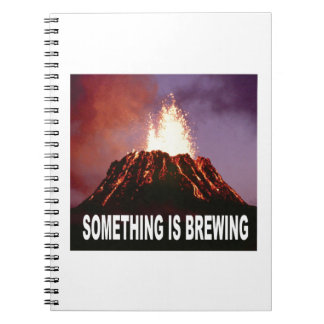 Something is brewing notebooks