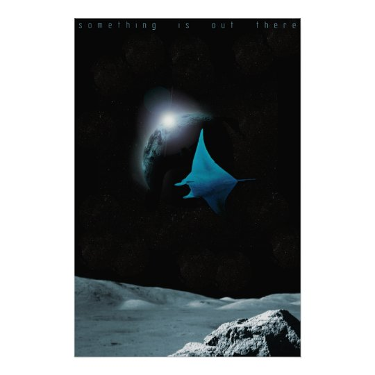 Something Is Out There Poster