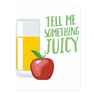 Something Juicy Postcard