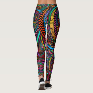 Something More to Crow About Pop Fashion Leggings