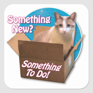 Something New? Square Sticker