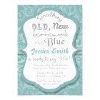 Something Old New Borrowed & Blue Bridal Shower Card