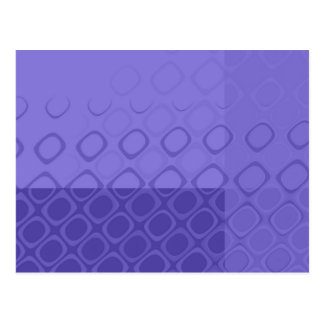 Something Purple - Bold Purple Abstract Postcard