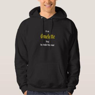 Something Rotten Omelette Hooded Sweatshirt