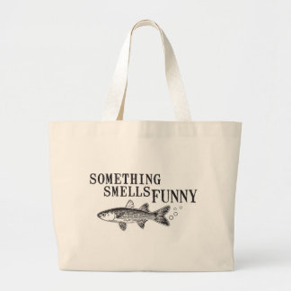 Something smell funnu tote bag