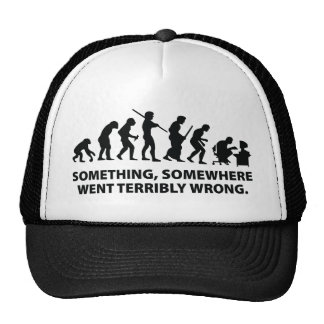 Something, Somewhere Went Terribly Wrong Mesh Hat