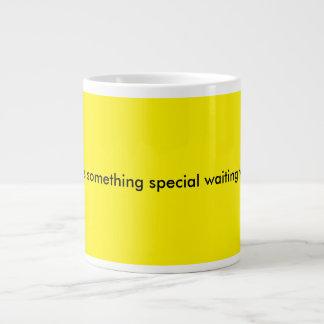 something special waiting yellow jumbo mug