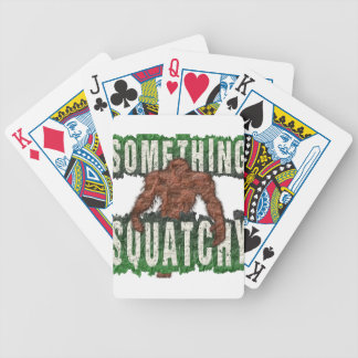 Something Squatchy Bicycle Playing Cards