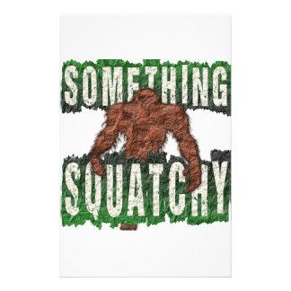 Something Squatchy Custom Stationery