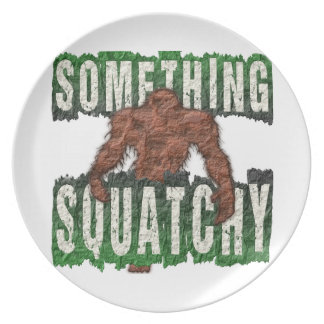Something Squatchy Party Plates