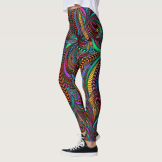 Something to Crow About Pop Fashion Leggings