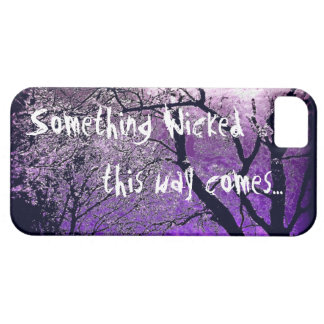 Something wicked this way comes iphone case