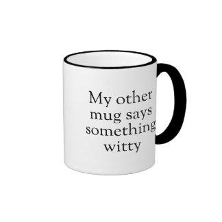 Something Witty - Goofy Coffee Mug