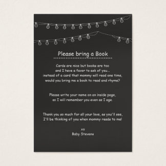 Something's Brewing Book Request Cards