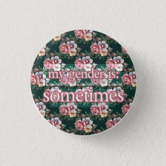 sometimes 1 inch round button