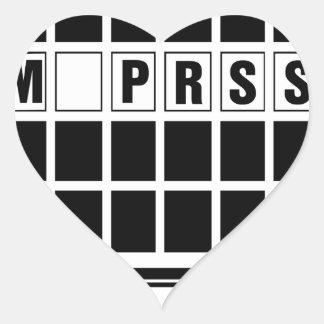 sometimes copy heart sticker