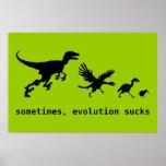 Sometimes, Evolution Sucks Poster