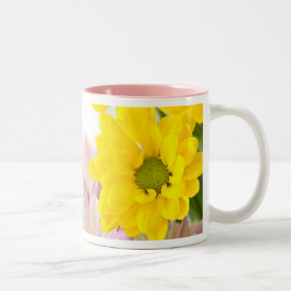 sometimes good things fall apart so better things Two-Tone coffee mug