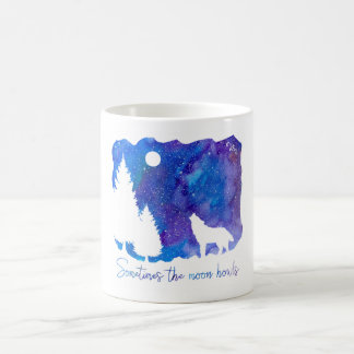 Sometimes the Moon Howls Coffee Mug