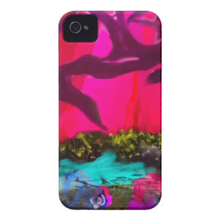 Sometimes the nature dress up iPhone 4 Case-Mate case