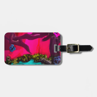 Sometimes the nature dress up luggage tag