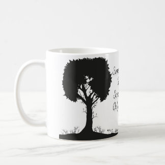 Sometimes you have to let something go... coffee mug