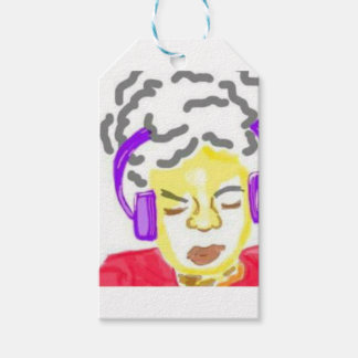 Sometimes you just have to get lost in the music.. pack of gift tags